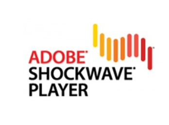 �uAdobe Shockwave Player�v�i�摜�FAdobe Systems�j